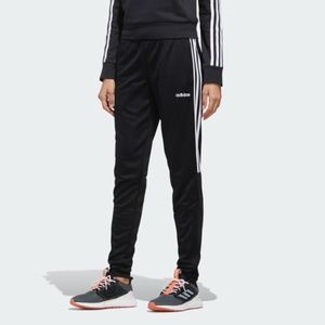 Adidas Top White Stripe Pocketed Jogger Pants XS